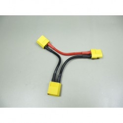 Adapter cable XT60 2x battery serial