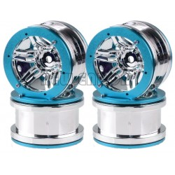 "ALUMINIUM BEADLOCK 2.2"" WHEELS WITH ALU RING (4U.)"