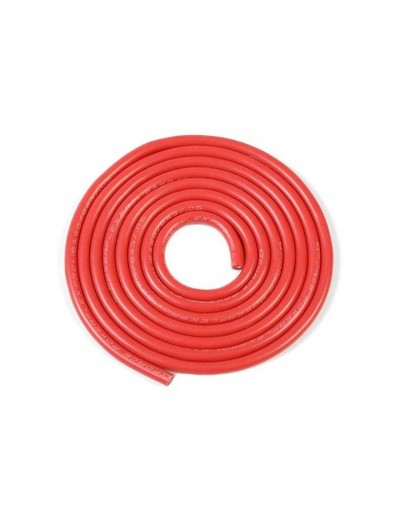 Silicone 1m 16AWG (Red)