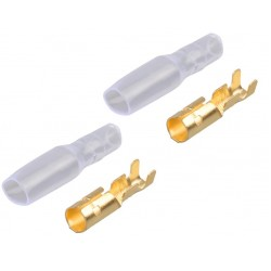 Motor / esc copper connector 4mm (F)