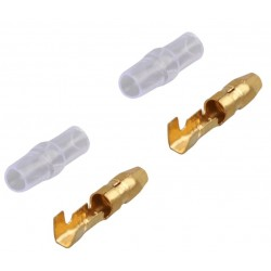 Motor / esc copper connector 4mm (M)