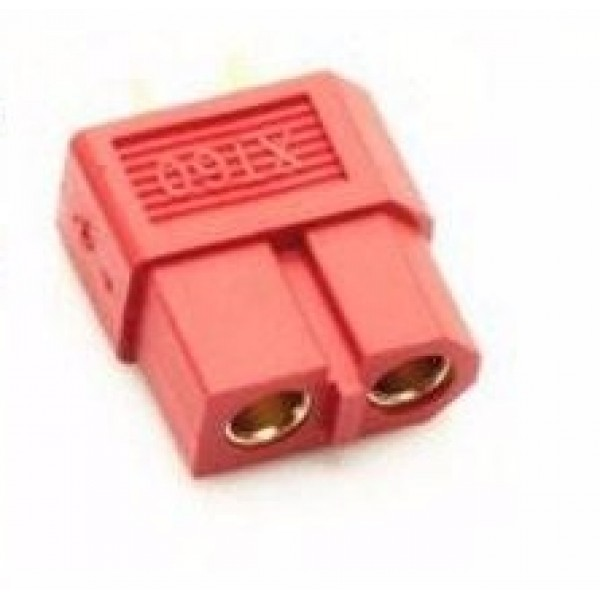 XT-60 CONNECTOR (FEMALE) Red