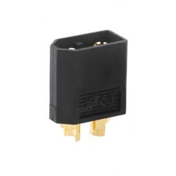 XT-60 CONNECTOR (MALE) Black
