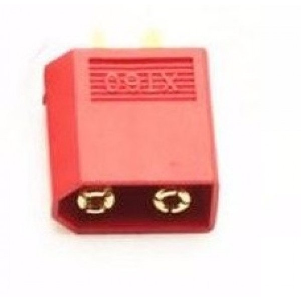 XT-60 CONNECTOR (MALE) Red