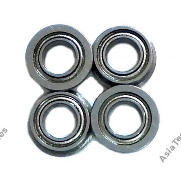 KM Racing 4x7x2.5mm Flange Bearing (4pcs) for Kyosho Mini Inferno