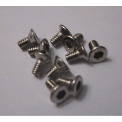 M2x12mm Flat HEAD (10) INOX