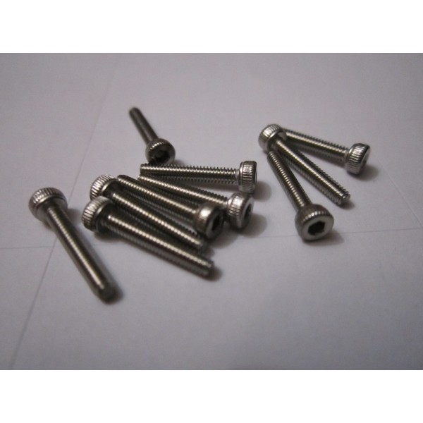 M2x12mm CAP HEAD (10) INOX