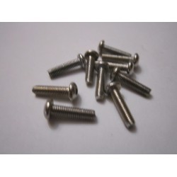 M3x12mm Button Head Screw (10) INOX