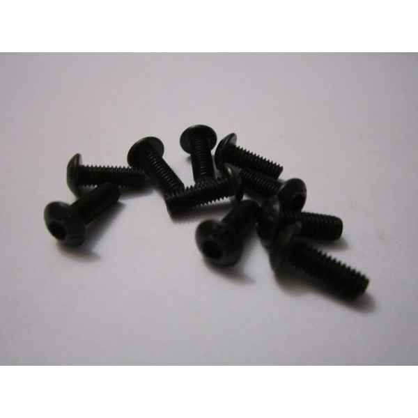 M3x8mm Button Head Screw (10)