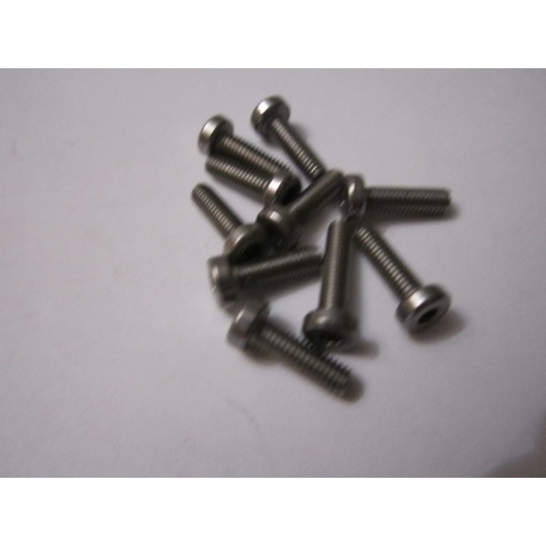 M3x10 CAP HEAD (10) INOX