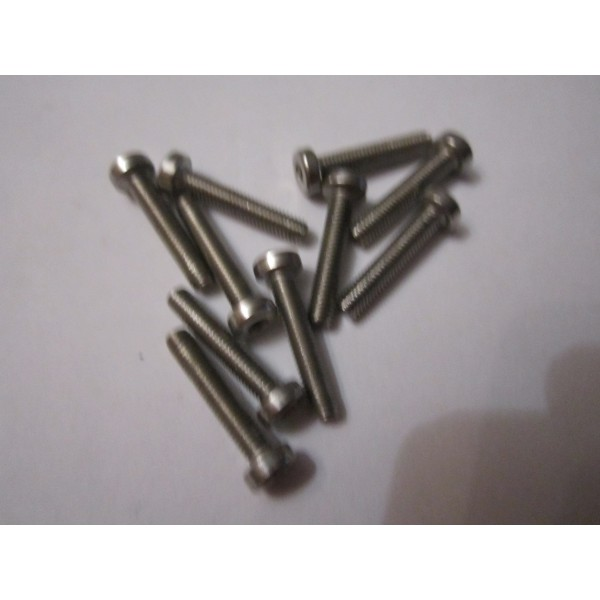 M3x16 CAP HEAD (10) INOX