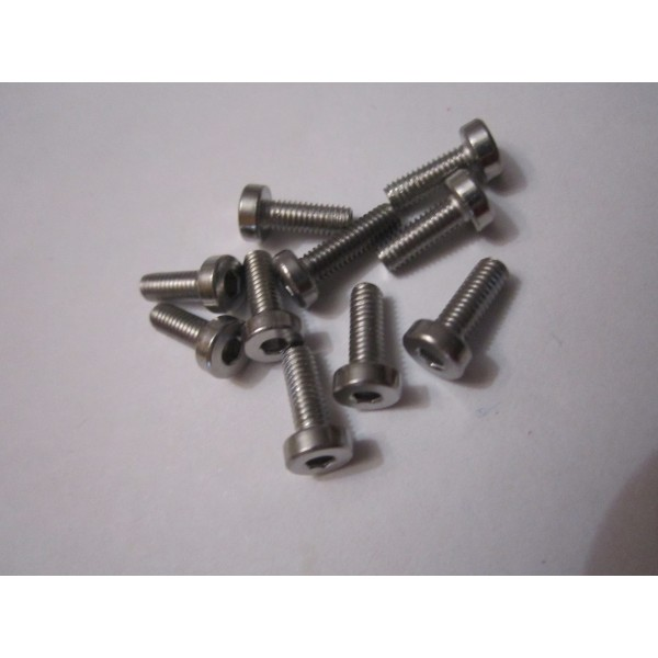 M3x8mm CAP HEAD (10) INOX