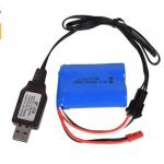 6.4 v Chargeur Li-ion batterie SM-3P RC