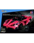 Lepin Technic Series RC Remote Control Sports Car Red Storm Racing Car Building Block 453pcs