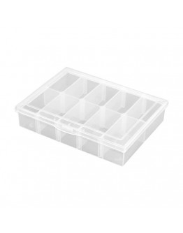 Robitronic Assortment Case 10 compartments variable 134x100x29mm