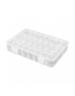 Robitronic Assortment Case 24 compartments variable 202x137x40mm