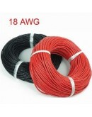 Stranded Wire Hookup Cable 18awg Red (1M)