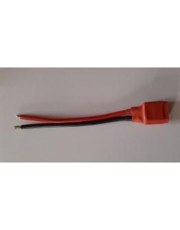 Power  Adapter Lead XT60 Socket - 12cm - 1 pc – 14AWG