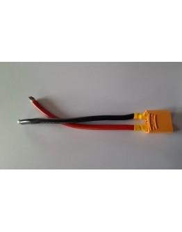 Power  Adapter Lead XT90 Socket - 10cm - 1 pc – 10AWG