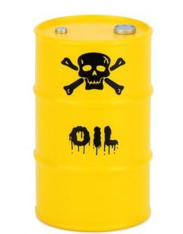 PLASTIC OIL BARREL FOR CRAWLERS -1PC SET Yellow