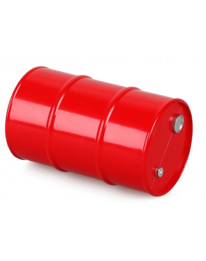 PLASTIC OIL BARREL FOR CRAWLERS -1PC SET Red