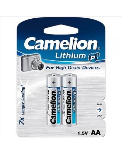 CAMELION LITHIUM P7 AA (PACK DE 2 PILHAS)