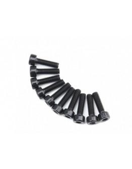 Metal Cup Machine Head Hex Screw M4x14-10pcs / set