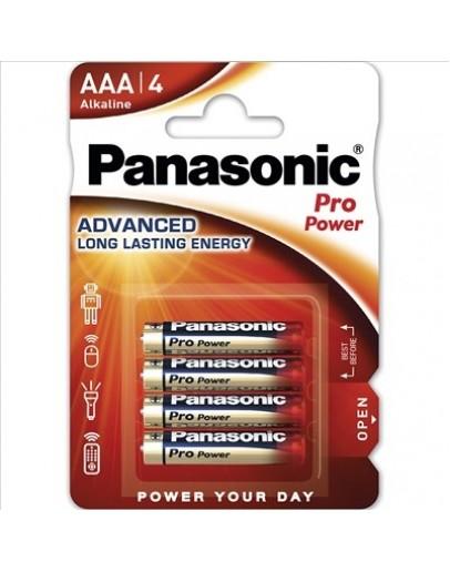 PANASONIC PRO POWER AAA PACK (X4)
