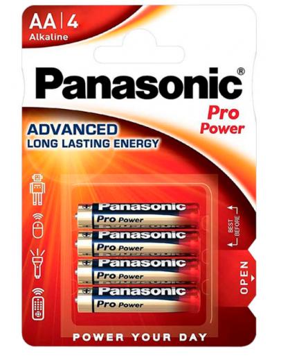 PANASONIC PRO POWER AA PACK (X4)