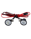 1/10 RC round led front projector
