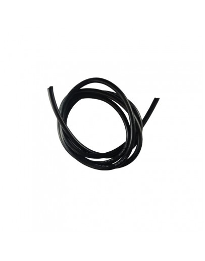 12AWG Silicone Fio 1m (black)