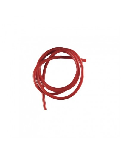 12AWG Silicone Fio 1m (Red)