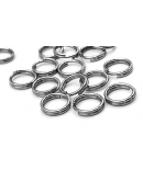 0.6X6mm stainless steel ring set 10 pcs