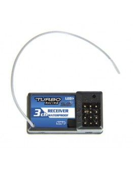 Turbo Racing 3 - CHANNEL RECEIVER 2,4 GHZ