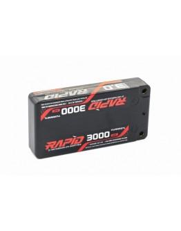Turnigy Rapid 3000mAh 2S1P 140C Hardcase Shorty Lipo Bateria (ROAR Aprovado)