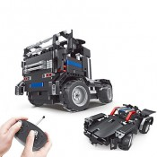 Remote-controlled brick sets
