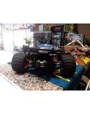QUANTUM XT FLUX 1/10 4WD STADIUM TRUCK BLUE MAVERICK (Como-novo)